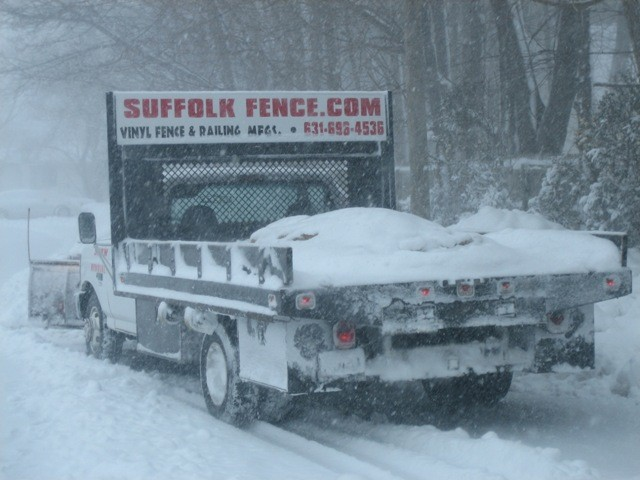Snow Removal Suffolk Fence